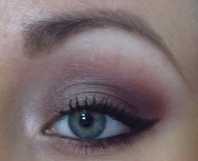 MAC: EASY PURPLE DAYTIME LOOK